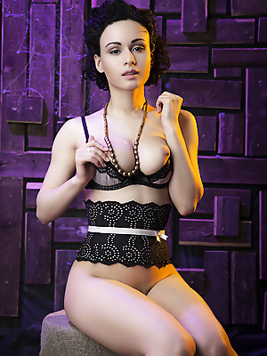 The Life Erotic  Pammie Lee  Softcore, Lingerie, Ebony, Erotic