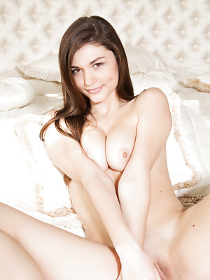 Amour Angels  Gabriella  Brunettes, Boobs, Breasts, Tits, Angel, Lingerie, Teens, Solo