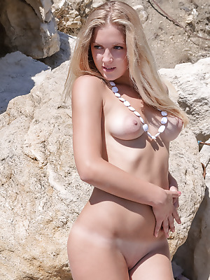 Amour Angels  Veronika  Solo, Teens, Outdoor, Pussy, Tits, Blondes, Breasts, Boobs